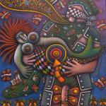 Ulises y la sirena, uno de los mejores cuadros de Alfredo Sosabravo