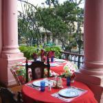 Vista de una paladar cubana