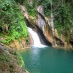 El Caburní, salto de agua en el Escambray espirituano