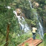 El salto del Guayabo, hermoso paraje en las montañas orientales de Cuba