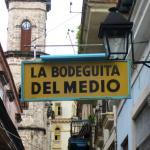 La Bodeguita del Medio, restaurante emblemático de La Habana