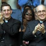 El cardenal cubano Jaime Ortega y el Nuncio Papal monseñor Luigi Bonazzi